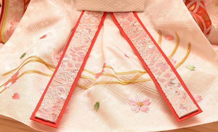 シュタイフひな人形テディベア 桜柄