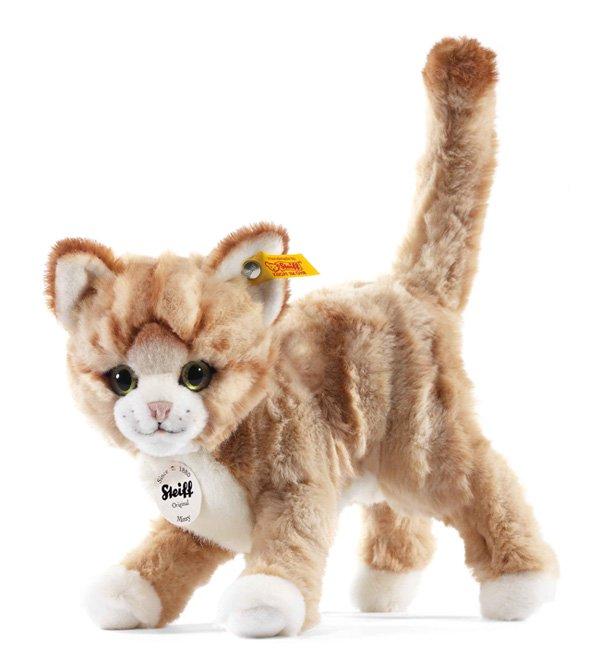 シュタイフのネコ